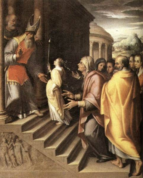 The Presentation Of Mary